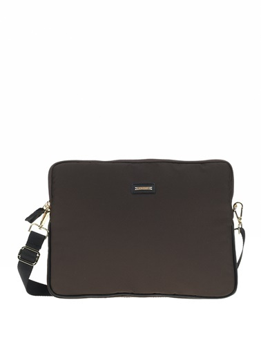 Cache The Bag Busy Laptop Case2001 (13-15 Inch Laptop, 12.9 Inch Ipad) Kahve